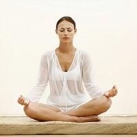 Girl Meditatiing